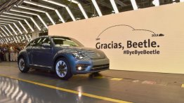 End of an era: VW Beetle production ends