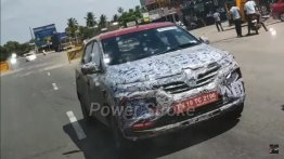 2020 Renault Kwid (facelift) spied up close in video