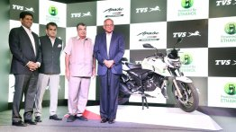 Ethanol-driven TVS Apache RTR 200 Fi E100 launched at INR 1.20 lakh