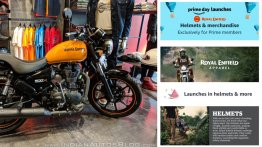 Royal Enfield Helmets and Merchandise available on Amazon India now