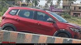 Renault Triber drops camou post unveiling, spied in Karnataka