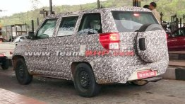 Updated Mahindra TUV300 Plus with BS-VI engine spied