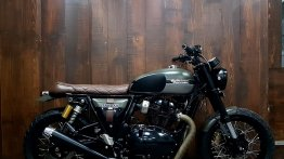 Royal Enfield Interceptor INT 650 gets scrambler treatment from Bulleteer Customs