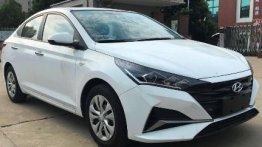 Chinese-spec 2020 Hyundai Verna (facelift) leaked