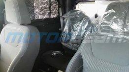 Spy shot confirms front-facing rear-seat for 2020 Mahindra Thar