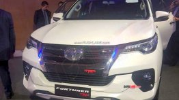 Toyota Fortuner TRD Sportivo displayed in India, to be launched in September 2019