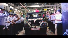 Mahindra shows the Thar 700 rolling off the assembly line [Video]
