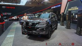 New Toyota Fortuner TRD Sportivo showcased at GIIAS 2019