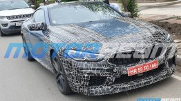 BMW M8 Coupe spied in India for the first time