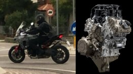 New Ducati Multistrada V4 spied during road tests
