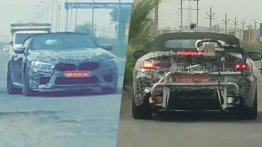 BMW M8 Convertible spied in India for the first time