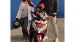 BS-VI Honda Activa 125 TVC shoot begins as launch nears