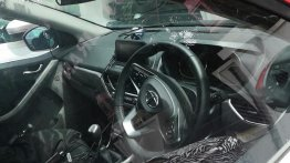 Tata Nexon with new steering wheel and cruise control spied