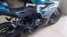 Production ready CFMoto 300SR spied for the first time