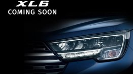Maruti XL6 LED headlamp detailed in new teaser video