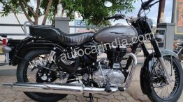 Royal Enfield Bullet 350X starts arriving at dealerships, launch imminent