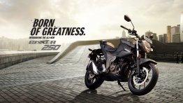 Suzuki Gixxer 250 launched at INR 159,800