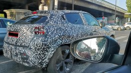 Next-gen Nissan Juke with massive wheels spied ahead of September debut