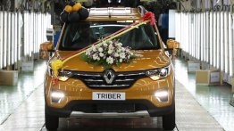 Renault Triber production starts, to be launched on 28 August
