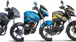 Bajaj Pulsar 125 Neon vs. Hero Glamour vs. Honda CB Shine SP - Spec Comparison