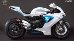 One-off MV Agusta F3 800 auctioned for €100,000 at UNICEF Summer Gala