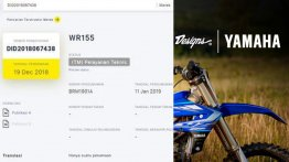 Yamaha YZF-R15 V3.0-based WR155 dual-purpose motorcycle under development - Report