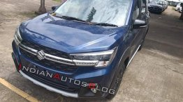 Maruti XL6 spied up close ahead of launch tomorrow