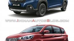 Maruti XL6 vs. Maruti Ertiga: Design, specs, features & pricing compared