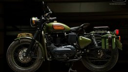 Modified Royal Enfield Electra gets a vintage upgrade from EIMOR Customs