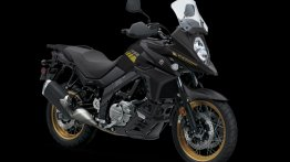 Suzuki V-Strom 650 XT gets a new Glass Sparkle Black colour option in the US
