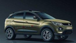 2020 Tata Nexon (facelift) front quarter - IAB Rendering