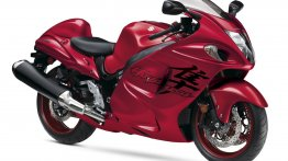 US-spec Suzuki Hayabusa gets new Candy Daring Red paint