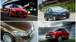 Maruti Suzuki की इन कारों पर मिल रहा है 1 लाख तक की बंपर छूट
