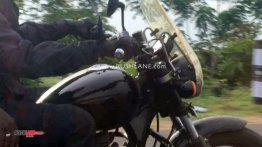 Production ready BS-VI compliant Royal Enfield Thunderbird X spied with accessories