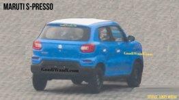 Maruti Suzuki S-Presso rear design spied for the first time