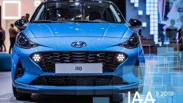Euro-spec 2019 Hyundai i10 at 2019 Frankfurt Motor Show - In 22 Live Images