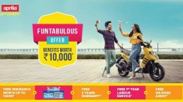 Piaggio introduces benefits worth INR 10,000 for Vespa and Aprilia scooters