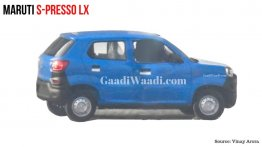Maruti S-Presso base variant spied for the first time