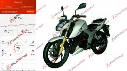 Leaked document confirms Bluetooth instrument console on TVS Apache RTR 200 4V