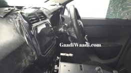2020 Renault Kwid with LED instrument cluster and 8-inch infotainment system spied