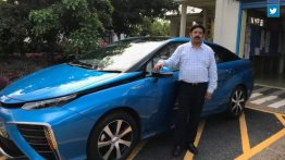 Toyota Mirai FCV imported to India, to be tested in Kerala