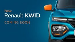 2020 Renault Kwid (facelift) teased, exterior partially revealed