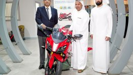 TVS Apache range, Ntorq 125, Jupiter and WEGO launched in UAE