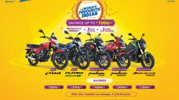 Bajaj motorcycles get cash discounts, extended warranty under festive season offer