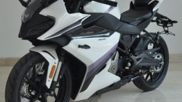 Production ready CFMoto 250SR spotted in new colour