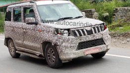2020 Mahindra TUV300 Plus (facelift) spotted on test yet again