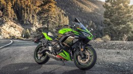 2020 Kawasaki Ninja 650 with new styling & Bluetooth connectivity revealed