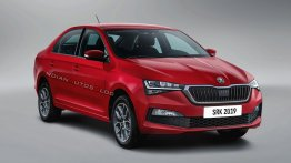 India-bound next-gen 2020 Skoda Rapid - IAB Rendering