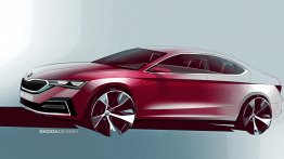 Next-gen 2020 Skoda Octavia teased with sketches