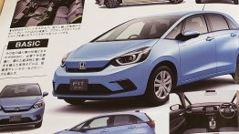 2020 Honda Jazz and 2020 Honda Jazz Crosstar leaked